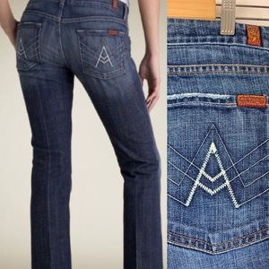 7 For All Mankind Jeans 32 A Pocket Flare 7FAM